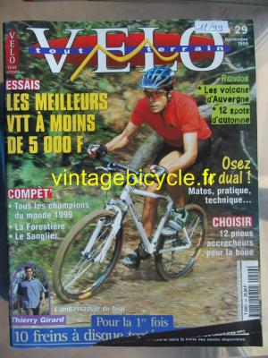 VELO TOUT TERRAIN 1999 - 11 - N°29 novembre 1999