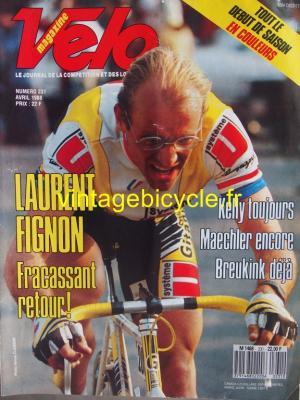 VELO 1988 - 04 - N°231 avril 1988