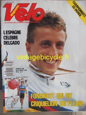 VELO 1988 - 09 - N°236 septembre 1988