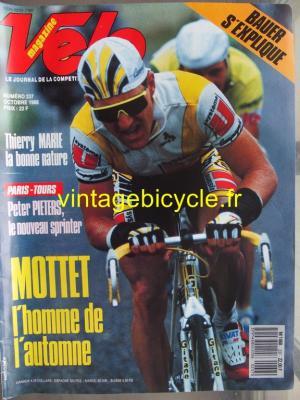 VELO 1988 - 10 - N°237 octobre 1988