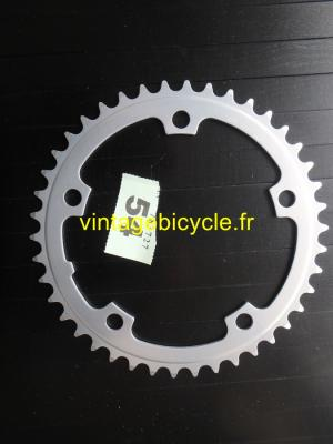 SHIMANO 42t Chainring Aluminium SG bcd 130mm NOS