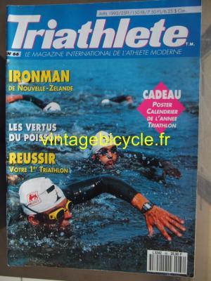 TRI-ATHLETE - 1992 - 04 - N°66 avril 1992