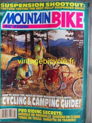 MOUNTAIN BIKE ACTION 1992 - 03 - N° 3 mars 1992