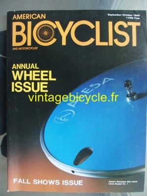 AMERICAN BICYCLIST - 1989 - 09 - N°9-10/110 septembre / octobre 1989
