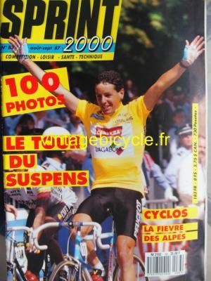SPRINT 2000 1987 - 08 - N°83 aout / septembre 1987