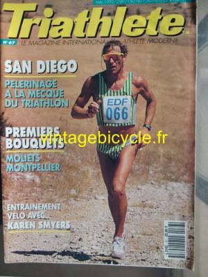 TRI-ATHLETE - 1992 - 05 - N°67 mai 1992