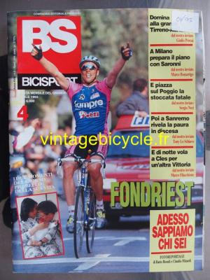 BS BICISPORT - 1993 - 04 - N°4 avril 1993