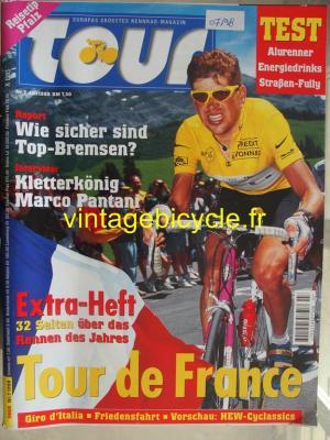 TOUR 1998 - 07 - N° 7 juillet 1998