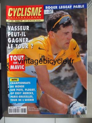 CYCLISME INTERNATIONAL 1997 - 10 - N°143 octobre 1997