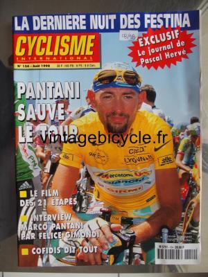 CYCLISME INTERNATIONAL 1998 - 08 - N°154 aout 1998