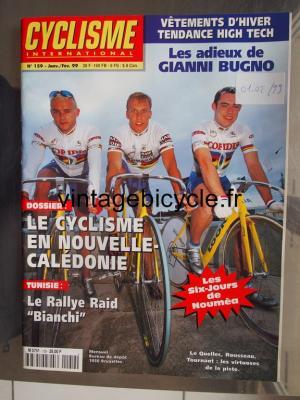 CYCLISME INTERNATIONAL 1999 - 01 - N°159 janvier / fevrier 1999