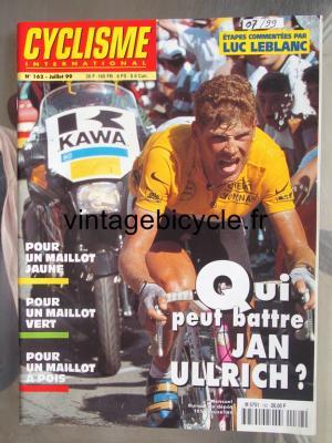CYCLISME INTERNATIONAL 1999 - 07 - N°162 juillet 1999