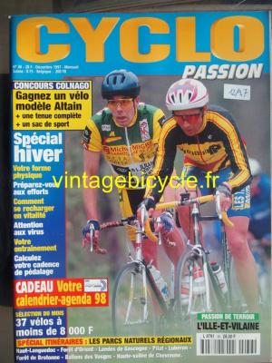 CYCLO PASSION 1997 - 12 - N°36 decembre 1997