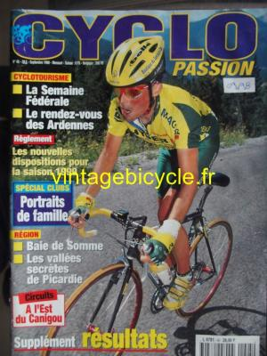 CYCLO PASSION 1998 - 09 - N°45 septembre 1998