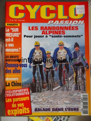 CYCLO PASSION 1996 - 04 - N°16 avril 1996