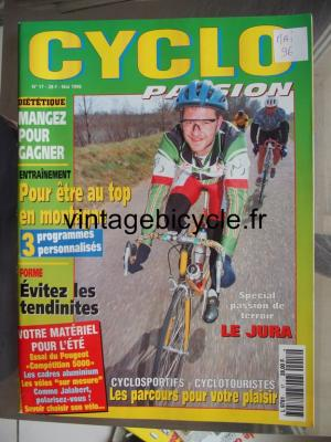 CYCLO PASSION 1996 - 05 - N°17 mai 1996