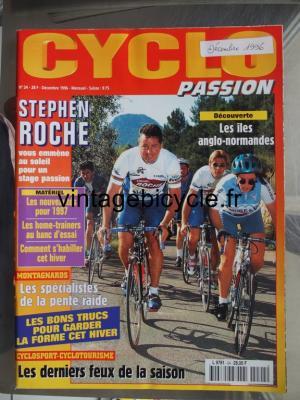 CYCLO PASSION 1996 - 12 - N°24 decembre 1996