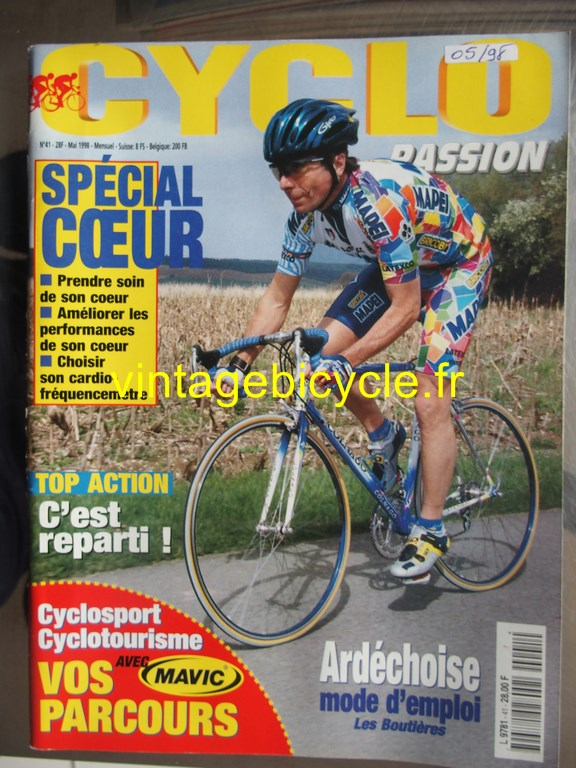 Vintage bicycle fr cyclo passion 6 copier 2