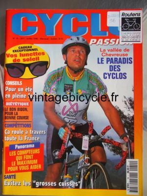 CYCLO PASSION 1996 - 07 - N°19 juillet 1996