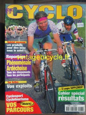 CYCLO PASSION 1998 - 07 - N°43 juillet 1998