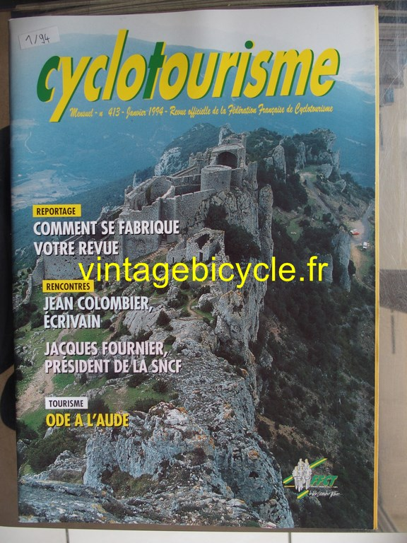 Vintage bicycle fr cyclotourisme 1 copier