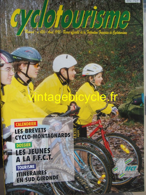 Vintage bicycle fr cyclotourisme 13 copier