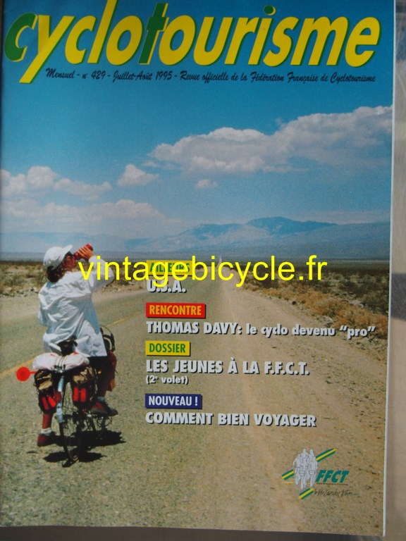 Vintage bicycle fr cyclotourisme 16 copier