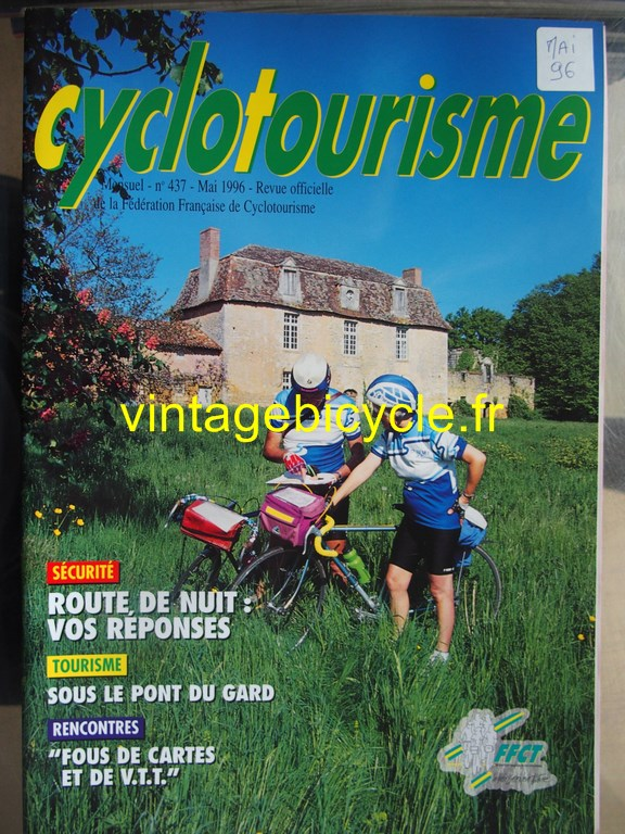Vintage bicycle fr cyclotourisme 26 copier