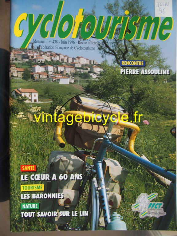 Vintage bicycle fr cyclotourisme 27 copier