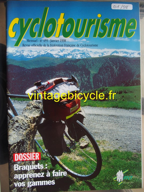 Vintage bicycle fr cyclotourisme 32 copier