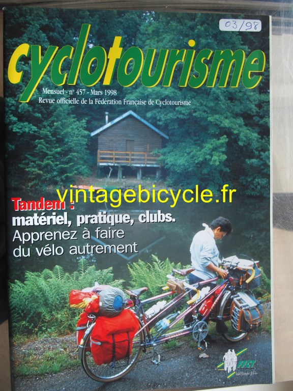 Vintage bicycle fr cyclotourisme 34 copier