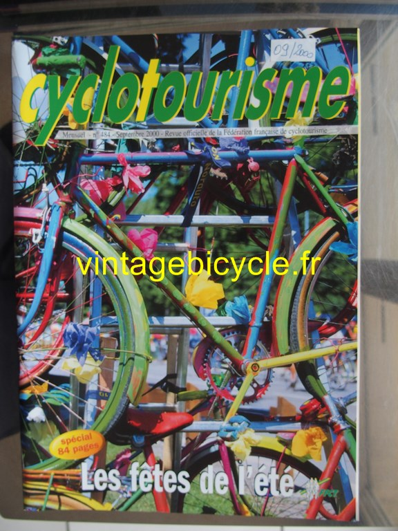 Vintage bicycle fr cyclotourisme 50 copier