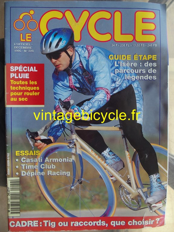 Vintage bicycle fr l officiel du cycle 1 copier