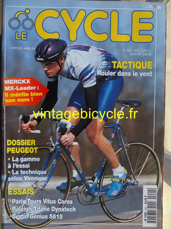 Vintage bicycle fr l officiel du cycle 10 copier