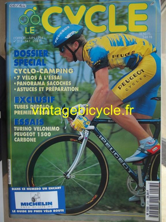Vintage bicycle fr l officiel du cycle 19 copier