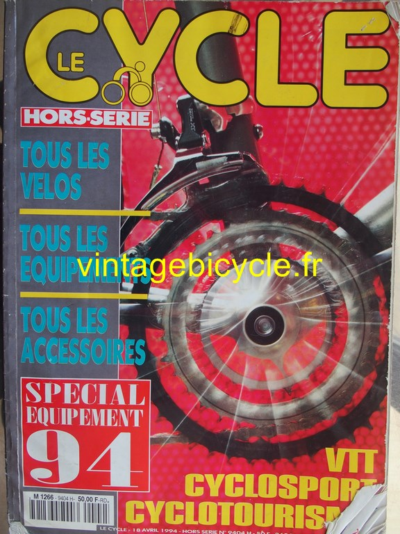 Vintage bicycle fr l officiel du cycle 21 copier