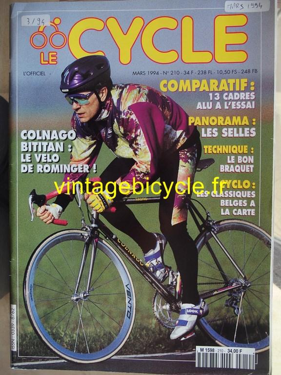 Vintage bicycle fr l officiel du cycle 23 copier