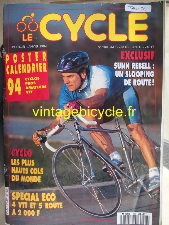 Vintage bicycle fr l officiel du cycle 25 copier