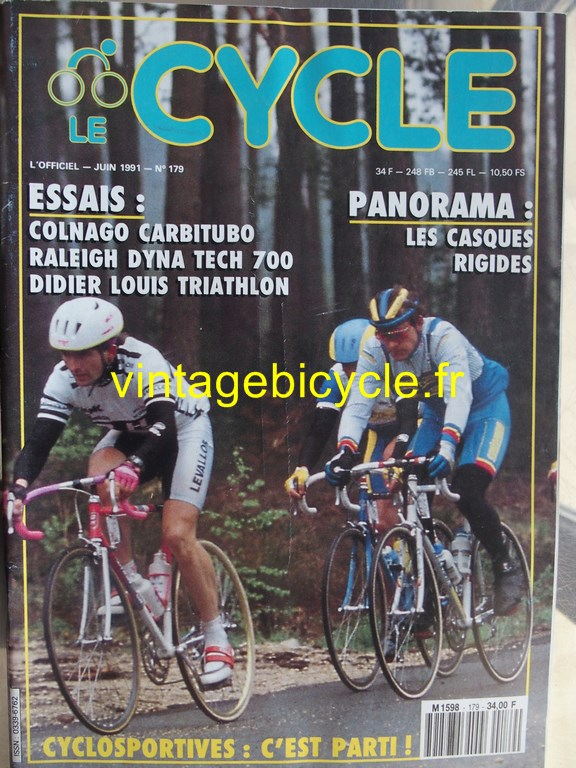 Vintage bicycle fr l officiel du cycle 27 copier