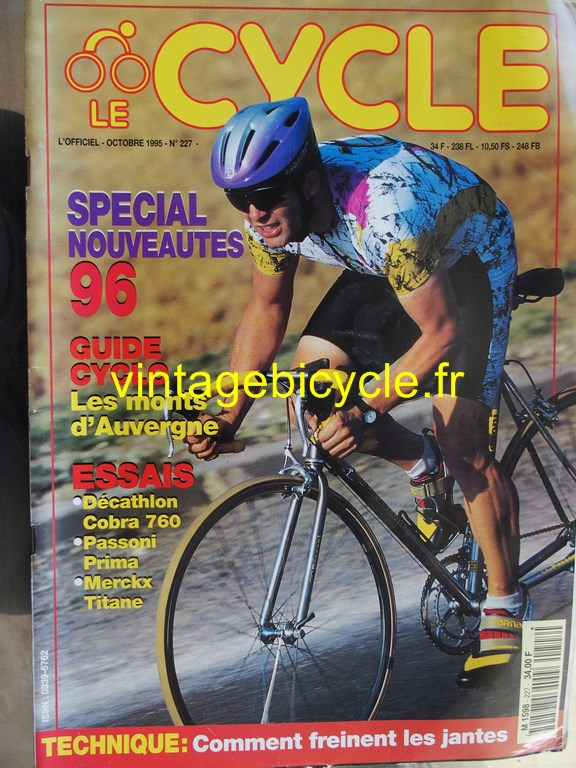 Vintage bicycle fr l officiel du cycle 3 copier