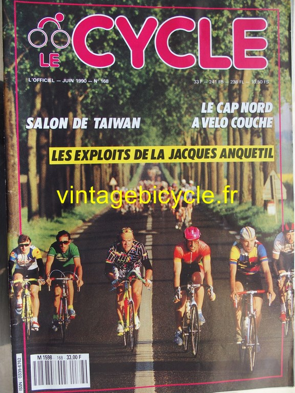 Vintage bicycle fr l officiel du cycle 37 copier