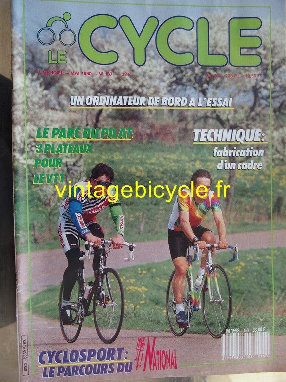 Vintage bicycle fr l officiel du cycle 38 copier