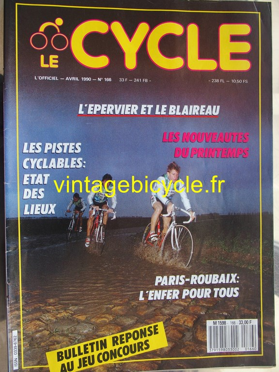 Vintage bicycle fr l officiel du cycle 39 copier