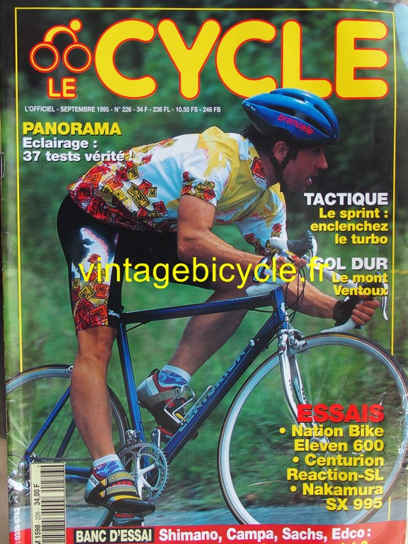 Vintage bicycle fr l officiel du cycle 4 copier