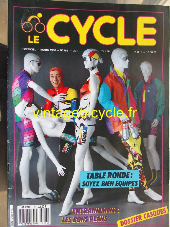 Vintage bicycle fr l officiel du cycle 40 copier
