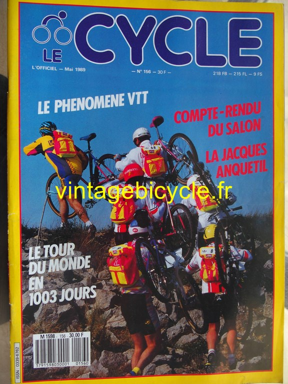 Vintage bicycle fr l officiel du cycle 42 copier