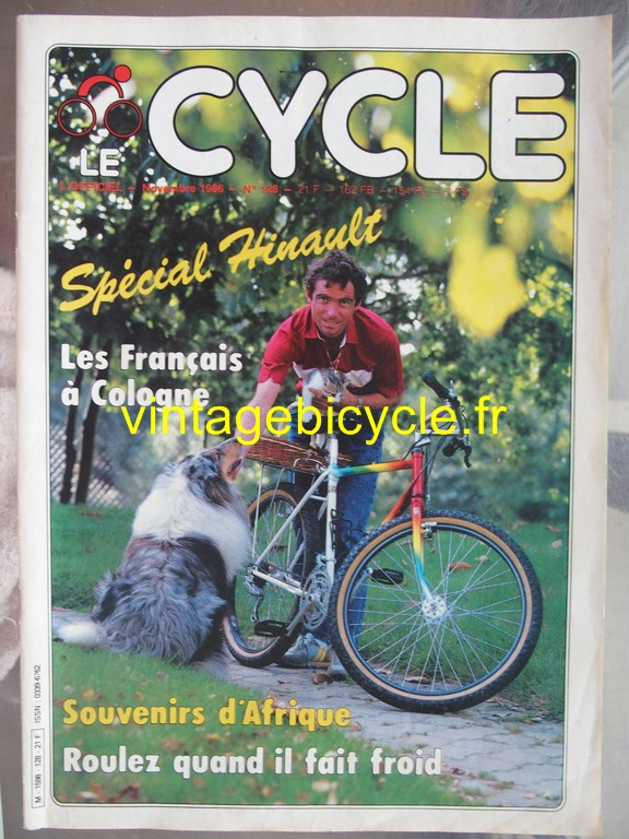 Vintage bicycle fr l officiel du cycle 47 copier