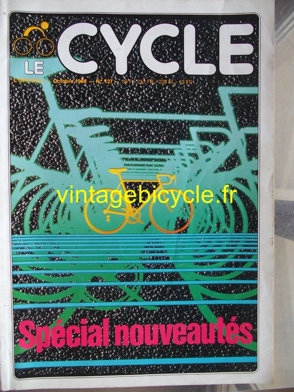 Vintage bicycle fr l officiel du cycle 48 copier
