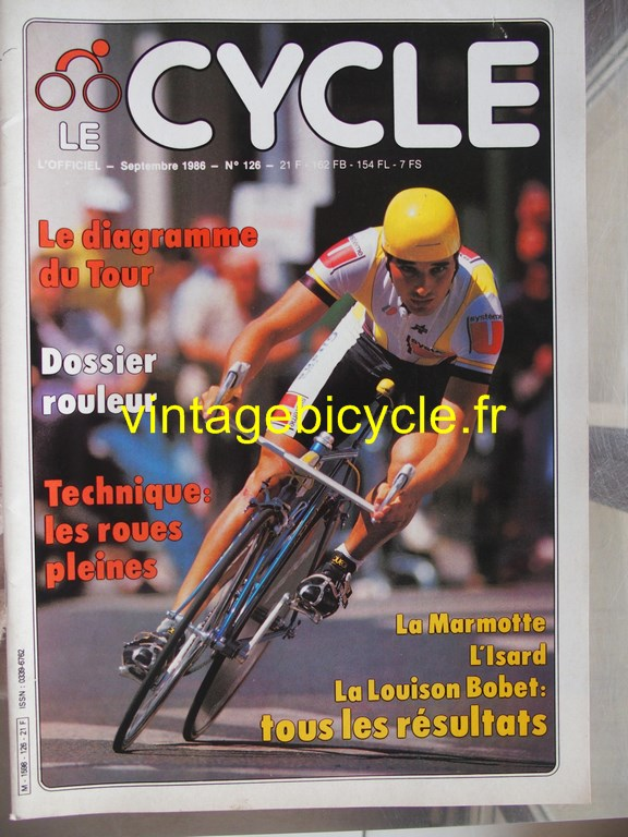 Vintage bicycle fr l officiel du cycle 49 copier