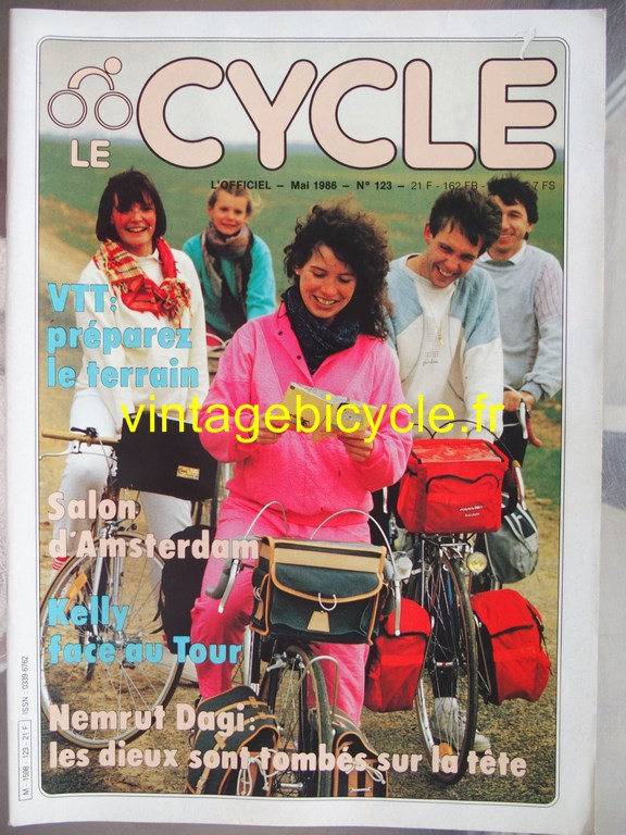 Vintage bicycle fr l officiel du cycle 51 copier